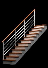 Treppen, Stiegen, Geländer - Domino