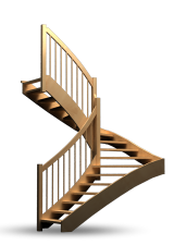 Treppen, Stiegen, Geländer - Klassik