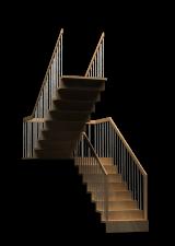Treppen, Stiegen, Geländer - Simpel