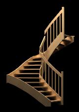 Treppen, Stiegen, Geländer - Standard